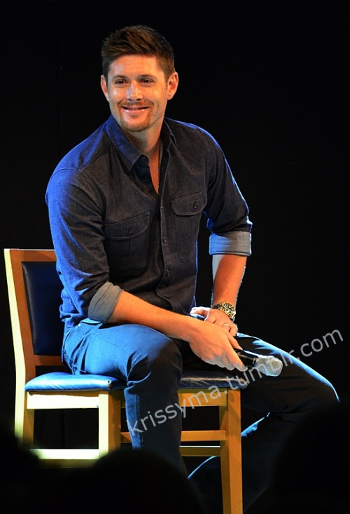 krissyma:  Jensen Ackles May 12,2013 Jus In Bello Supernatural Convention in Rome/Italy
