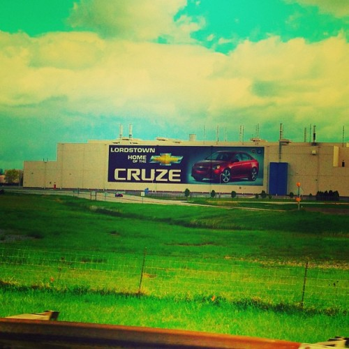 Lordstown Chevrolet Assembly Plant in Ohio #Cruze #vinitique #mayfair #iphone5only