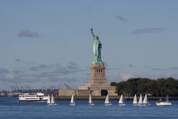 nycgo-uk:  The U.S. National Park Service announced today that tickets to visit the Statue of Liberty's monument and crown for its 4th July reopening are on sale and are available from Statue Cruises. Liberty Island and Lady Liberty have been closed to the public for the last eight months, thanks to damage from Hurricane Sandy. The island and its famous resident will reopen on 4th July, U.S. Independence Day.   [Photo: Marley White/NYC & Company]