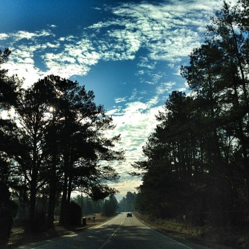 The open road #tagsforlikes #road #famouslyhot #sc #southcarolina #columbiasc #iphone4s #iphonography #instagram #colors #clouds #sky #webstagram  #iphoneonly  #instagrammers #iphonegraphy #MyTravelGram #MTGang #MTG9  #MTGAddicts (at Screaming Eagle Road)
