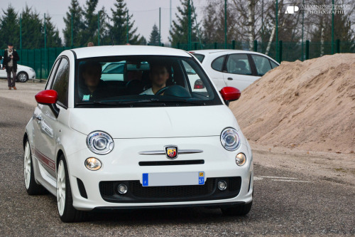 carpr0n:  Rocket powered tuna can Starring: Fiat 500 Abarth (by Alexandre Prévot)