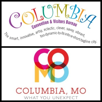 And here it is… the Columbia Convention and Visitors Bureau's old vs. new logo and tag line. What are your thoughts?