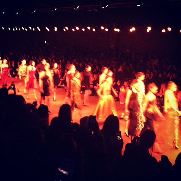 Finale of Christian Siriano #nyfw #mbfw #fashion