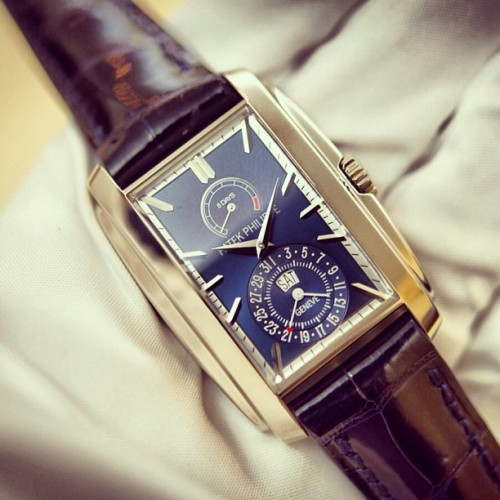 hodinkee:  Introducing the Patek Philippe 5200G. Details on www.hodinkee.com. (at HODINKEE Headquarters)