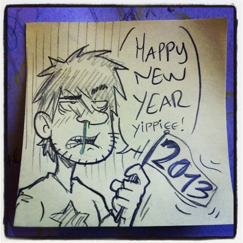 Happy #2013!!! #postit #pencil #postitgram #newyear #lrn