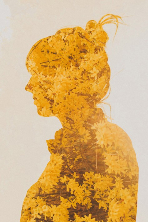 (via Double Exposure Portraits by Sara K Byrne | Colossal)