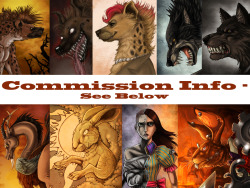 If you want a commission for me, click on the picture or here for info. If you have a deviantart account, leave a note, if not, send me a pm (but notice that tumblr not always inform me about new messages…)