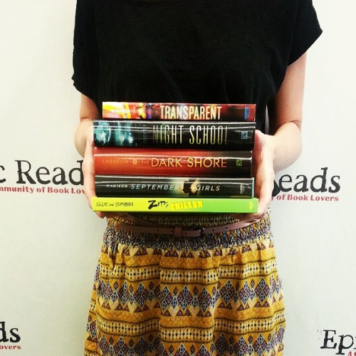 epicreads:  Today's new releases from HarperTeen! Read about each of these new releases here.