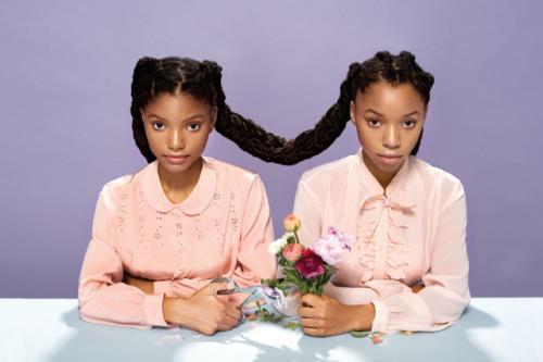 sheisthemusic sisterhood powerful connection chloe x halle Alicia Keys