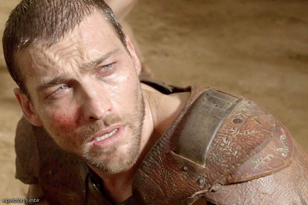 vipvictor:  Andy Whitfield movie stills from the Spartacus Blood and Sand S1E11 (edited by vipvictor)