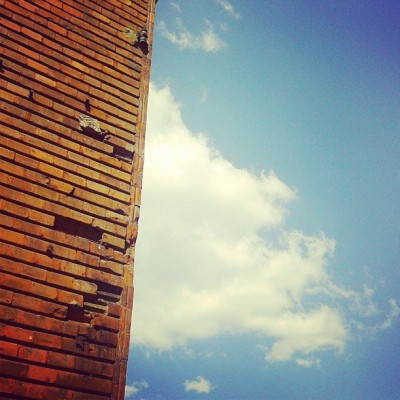 How to hide a cloud :D #sky #cloud #blue #sunny #building #igdaily #igers #instagreat #instawalk #photooftheday #bestoftheday #picoftheday #instagood #instalove #jj #love #beautiful #instalike #follow #tbt #nice