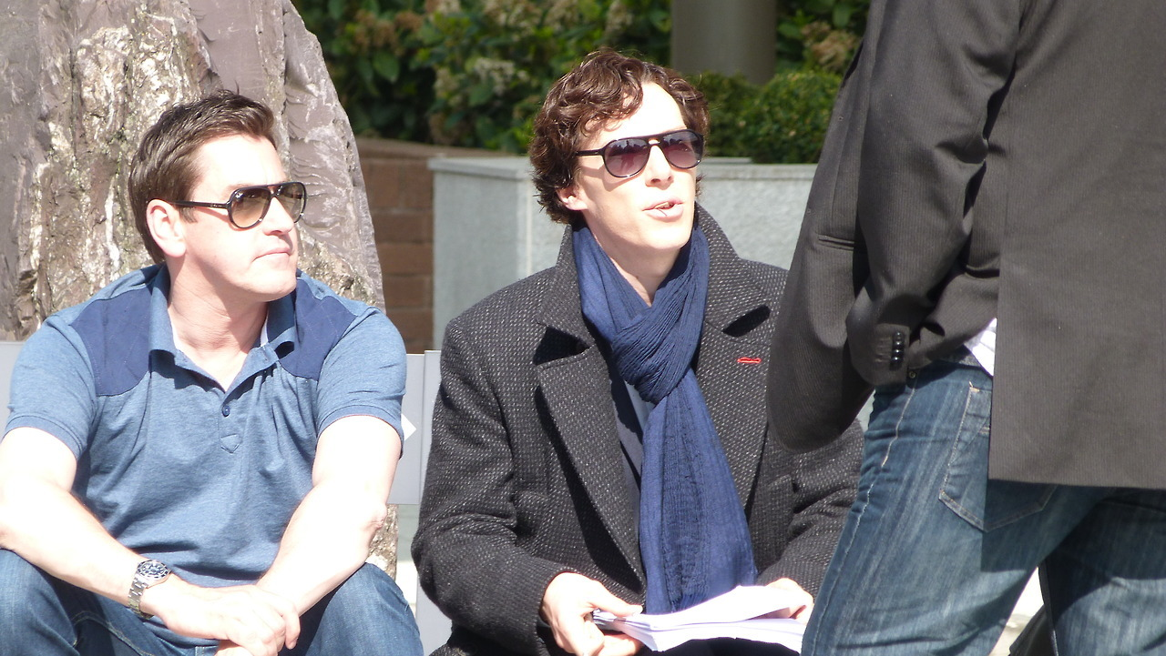 sherunlockedme:  Sherlock Season 3. May 2013  HURRY UP PLEASE
