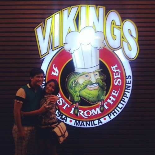 Big dinner last Sunday. #Vikings #instalove