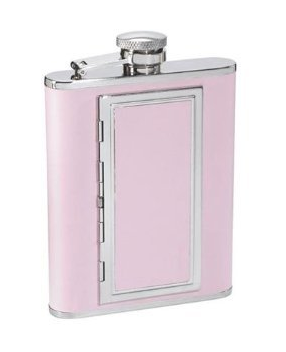 petitsirena:  things i need : this dual pink flask / cigarette holder   yessss my vices TWO FOR ONE