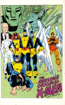 brianmichaelbendis:  The Original X-Men by Walter Simonson