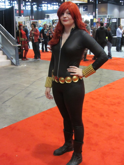 dancingnkd:  Black Widow  Cosplayer: Pepperbots Cosplay