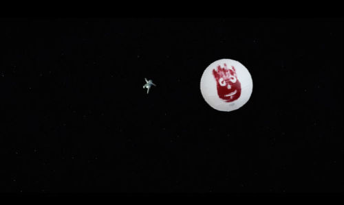 I saw this shot in the Gravity trailer and knew we had a masterpiece on our hands.