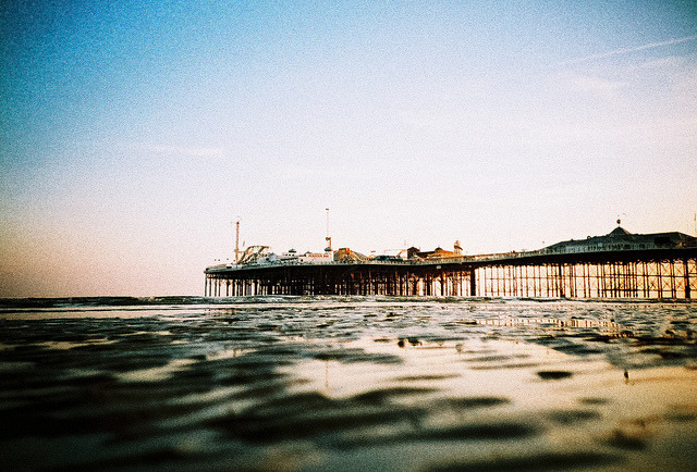 patrickpictures:  Low down lomo pier by lomokev on Flickr.