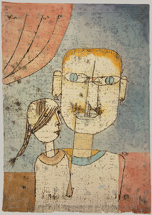 Paul Klee - Adam & Little Eve, 1921