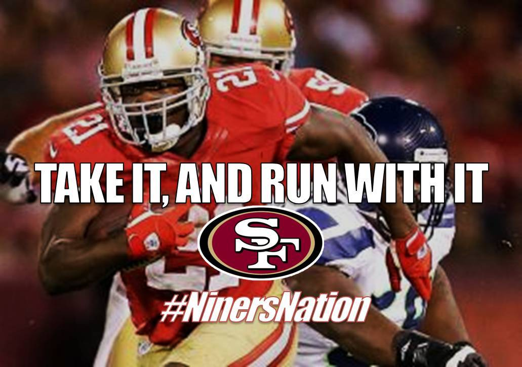 bboysmiles:  Let's go Niners! It's time to go to the Super Bowl!
