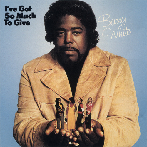 "Album Cover (1973) Barry White // I've Got So Much To Give Doesn't Barry White look a little like Questlove from The Roots. ""Had y'all thinking I'm Barry White."" - Pastor Troy // No More Play in GA"