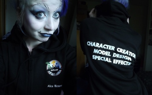 Finally got a uni hoodie… and fuck is mine better than yours :D xxxx