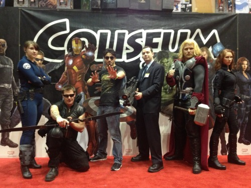 Our awesome Avengers group! I love these people.