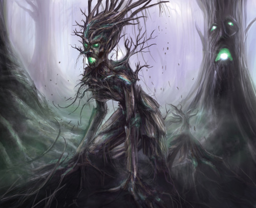 mererecorder:  Undead Dryad by ~ShaneTyreeArt