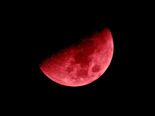 nighttattoo:  Red Moon by Hellfire8888 on Flickr.