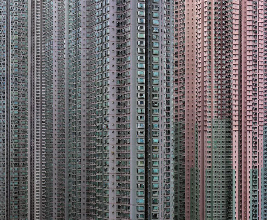 trixibelle:   Architectural Density in Hong Kong  Is this real!?