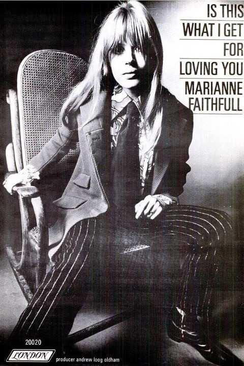 rollingstoned:  MARIANNE FAITHFULL