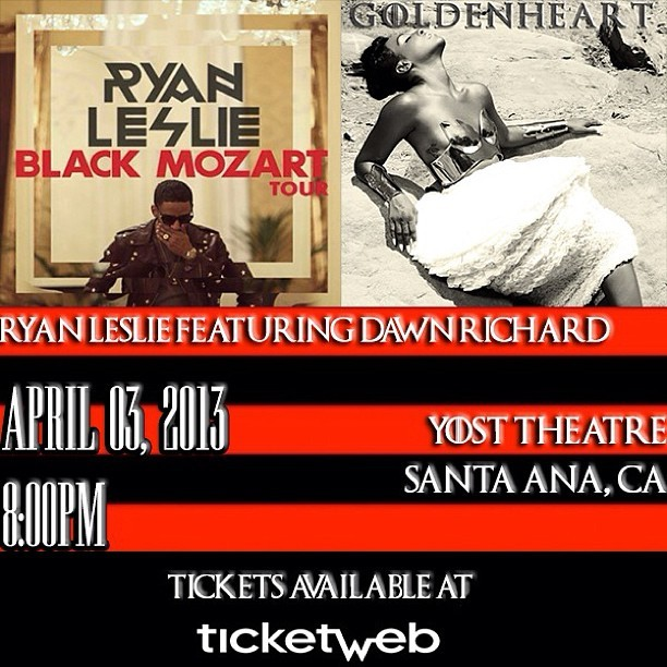 Goldenheart collides with the Black Mozart Tour April 3rd in Santa Ana! Get your tix http://goo.gl/8GlyW