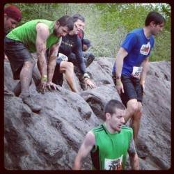 Another pic from Tough Mudder this past Saturday. Squeaky clean.