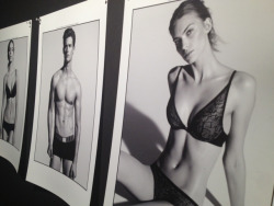 calvinklein:  Garrett and Emily for Calvin Klein Underwear, January 2013.