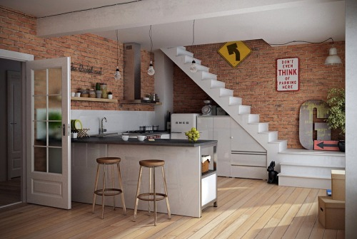 homedesigning:  Bespoke Kitchen Units