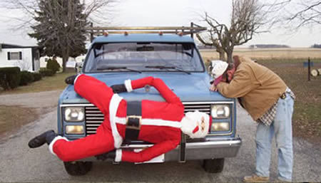 Christmas car decorations: awesome or tacky?