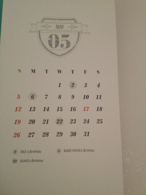 baekflip:  SM FUCKING HIGHLIGHTED MAY 17 THIS WAS A SIGN THE WHOLE FREAKING TIME WE COULD HAVE KNOW THE COMEBACK DATE IN JANUARY