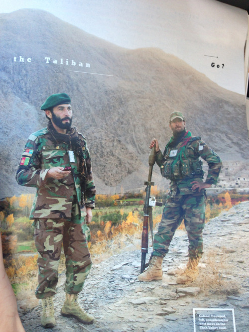 Waiting for the Afghan National Army to put out its 2013 sexy pinup calendar.