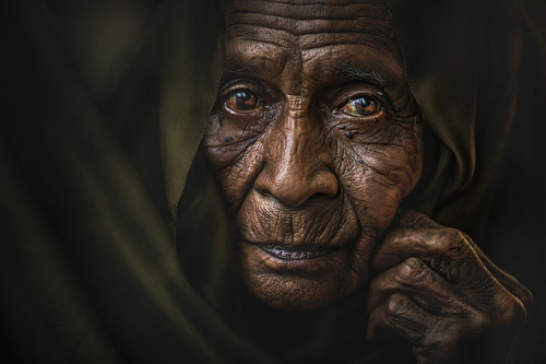 """MAMA ESAH""  Photograph by abe less"