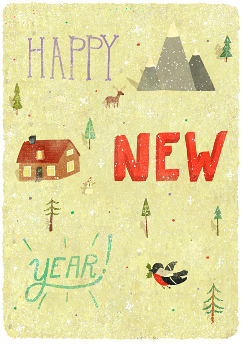 Happy New Year everyone! Wish you to archive all your goals, cozy home and a little bit of luck ;-)