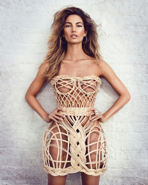 theclassyissue:  Lily Aldridge by Marc Hom for Tatler UK May 2013