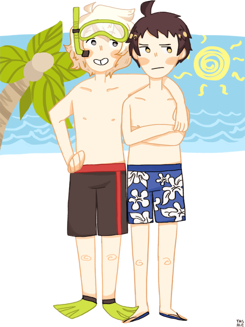 tasale:  lets go swimming hinata kun