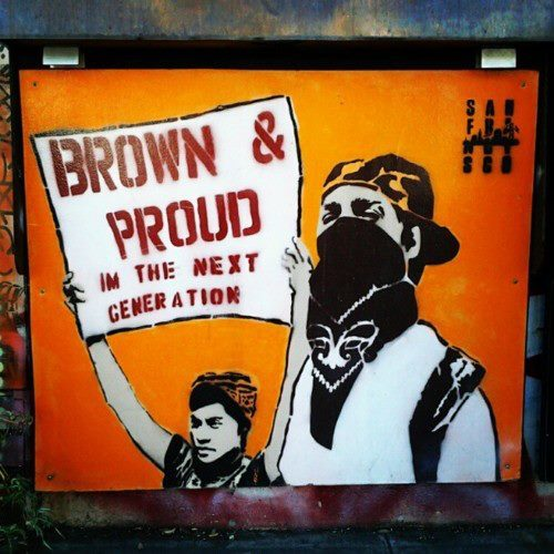 "cholosncholas:  ""Brown Pride"""