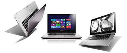 New notebooks: Lenovo Ideapad U310, U410 & Z400 Touch Lenovo has announced its new line of touch-screen laptops. All are already available. Lenovo IdeaPad U310 Touch: from S$1,199 U410 Touch: from S$1,299 Z400 Touch: from S$1,199
