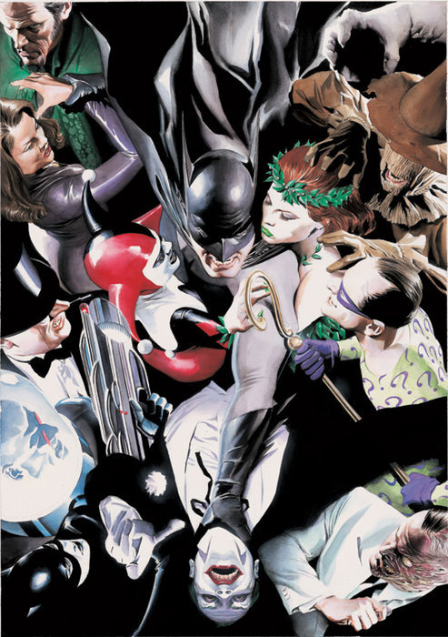 rozegothamcitizen:  By Alex Ross