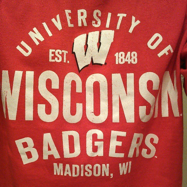 Straight representing today. #madison