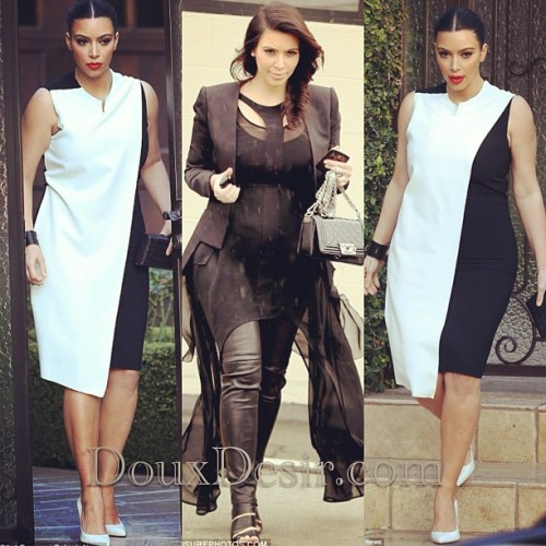#KimKardashian is a stylish mommy to be 😍 #fashion #style #celeb