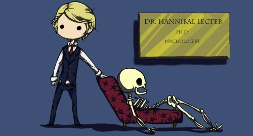 zambielamb:  A little drawing I made of Hannibal !(◎_◎;). I hadn't drawn him TV series version, and thought it high time to do so. Artwork is copyright me