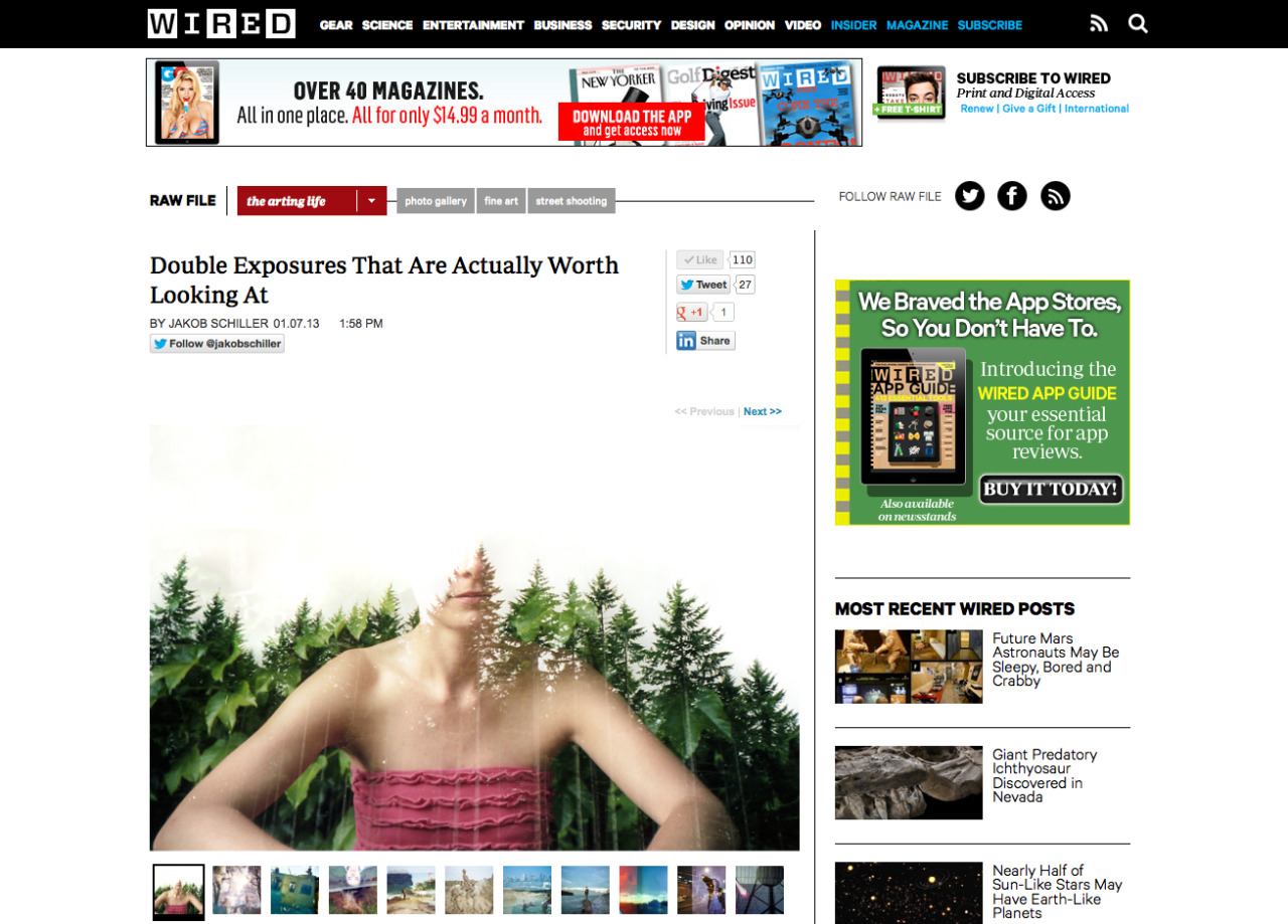 Check out our feature by Jakob Schiller on Wired.com!! You can follow him on twitter @jakobschiller. http://www.wired.com/rawfile/2013/01/these-double-exposures-are-actually-worth-looking-at/