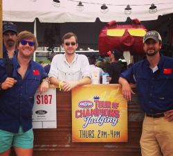 Bonobos' own John Rote is on the world's 4th greatest BBQing team (2nd in the Tour of Champions)!